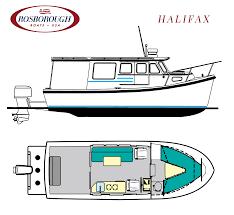 rf 246 rosborough boats usa construction