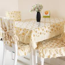 Cheap Chair Cover Dining Table Cloth Chair Covers Table Mat Set Round Table Cloth