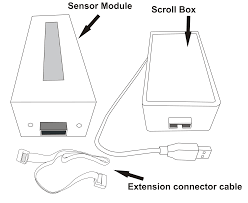 ir based computer scroll device using atmega 328 p