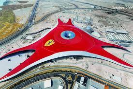 in abu dhabi roller coaster abu dhabi