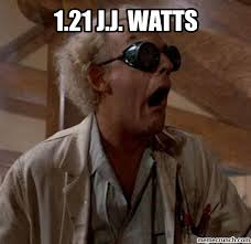 Doc Brown Meme - j j watts