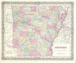 map of arkansas file 1855 colton map of arkansas geographicus arkansas colton