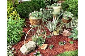 the most picturesque bike themed gardens total wom