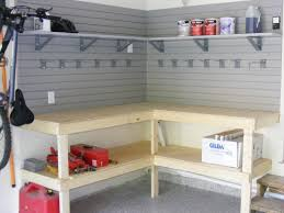 best 25 garage workbench ideas on pinterest workbench ideas custom corner workbench area in the garage add slatwall to the walls to store items