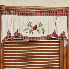wintersong swag valance window treatment