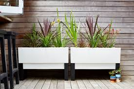 Plants And Planters by Urban Garden Planters Modern Plant Pots To Create Stylish Garden