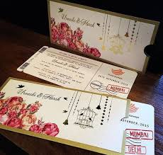 Wedding Card India Wedding Card Trends Fashion In India Threads