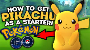 pokemon go cheats and hacks how to unlock pikachu as your starter