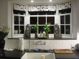 Kitchen Bay Window Curtain Ideas Kitchen Bay Window Decorating Ideas Bay Window Design Ideas Modern
