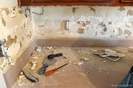 removing kitchen tile backsplash extraordinary removing tile backsplash with interior home addition