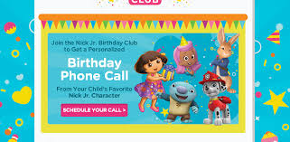 happy birthday phone call from the bubble guppies bubble