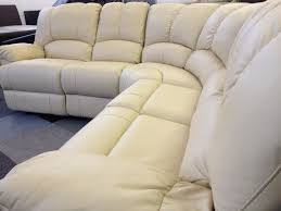 Leather Recliner Corner Sofa New Diego Leather Recliner Corner Sofa Group Ivory New Diego
