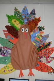 paper plate pop up turkey can write what thankful for on feathers