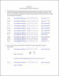 bonding assignment answers chemistry 30 chemical bonding