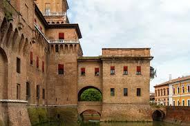 Ferrara Italy Map by Ferrara Map And Travel Guide Wandering Italy
