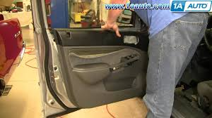 how to install replace remove front door panel honda civic 01 05