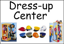 Dress Up Centers Clipart