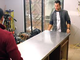 mid century modern kitchen countertops how to install a stainless steel kitchen countertop how tos diy