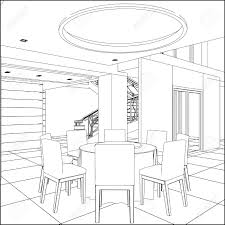 Fine Dining Room Sets by Dining Room Table Clipart Black And White For Decoration Clipart