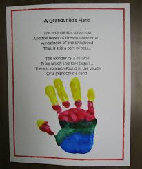 handprint poem kids crafts for grandparents popsugar moms photo 5