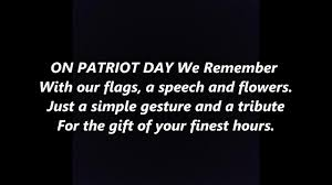 9 11 Remembrance Flag On Patriot Day We Remember 9 11 September 11 Lyrics Words Best