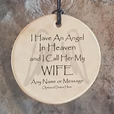 angel husband christmas memorial ornaments memorial gift ideas