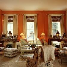 orange and brown living room curtains u2013 modern house