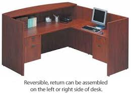 Furniture Reception Desk All Bow Front Desk With Reception Counter By Ndi Office Furniture