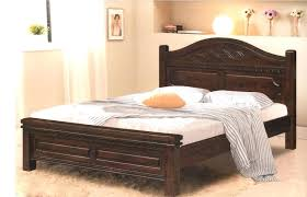 wood bed frame and headboard wood king size bed frame with