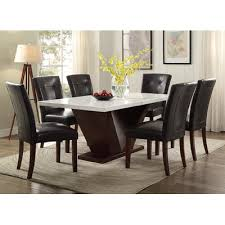ACME Furniture Forbes Marble Dining Table Wayfair - Marble dining room furniture