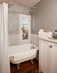 traditional claw foot tub shower curtain how to convert claw
