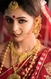 bridal hairstyle for reception bengali bridal makeup with 10 amazing pics and videos