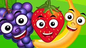 five little fruits nursery rhyme for kids and children songs kids