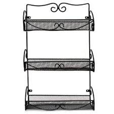 Extra Large Spice Rack Wall Mounted Spice Jars U0026 Spice Racks You U0027ll Love Wayfair