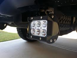 Led Truck Bar Lights by Amazon Com Ijdmtoy Tow Hitch Mount 40w High Power Cree Led Pod