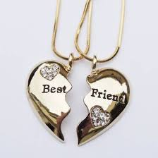 gold best friends necklace images Jewels bff coat gold necklace with the bestfriends kn it jpg