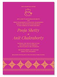 Wedding Invitation Card Wedding Card Design Purple Flower Painting Decoration Classic