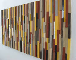 black and white abstract modern wall wood sculpture