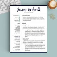 Creative Resume Templates For Mac Creative Resume Template For Word 1 2 Or 3 Page Professional
