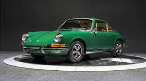 porsche irish green 1971 porsche 911 t trissl sports cars classic porsche specialists