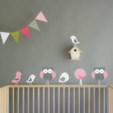 Owl Nursery Wall Decals by Trendy Gray Nursery Ideas Popsugar Moms
