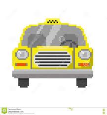 pixel car pixel art car stock vector image 71556186