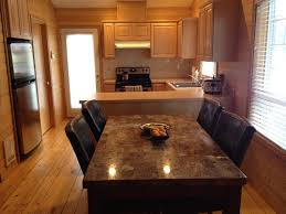 Granite Dining Table Set Flooding The Dining Room With Elegance - Granite kitchen table