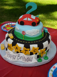 birthday cake designs for kids cars decorating of party
