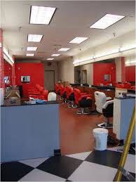 Decoration Salon Design by Barber Shop Interior Colors Hair Salon Front Design Beauty