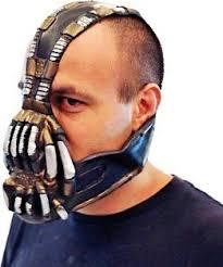 Bane Halloween Costume Dark Knight Rises Batman Dark Knight Rises Bane Mask Voice Changer