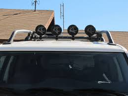 Fj Cruiser Roof Rack Oem by Fj Cruiser Factory Roof Rack U0026 4 Kc Lights