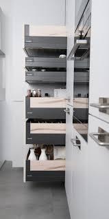 bloc tiroir cuisine les tiroirs et aménagements intérieurs pour votre cuisine schmidt