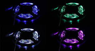 ribbon light 15 98 rgb led ribbon light for car home 150 led 500cm