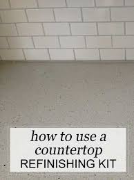 Refinish Kitchen Countertop Kit - a review of the spreadstone mineral select countertop refinishing
